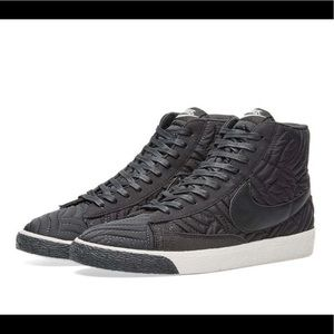 Nike Black Blazer Mid Premium High Top